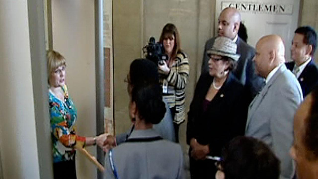 Members of the North Carolina Legislative Black Caucus got turned away Thursday while trying to meet with Governor Pat McCrory.
