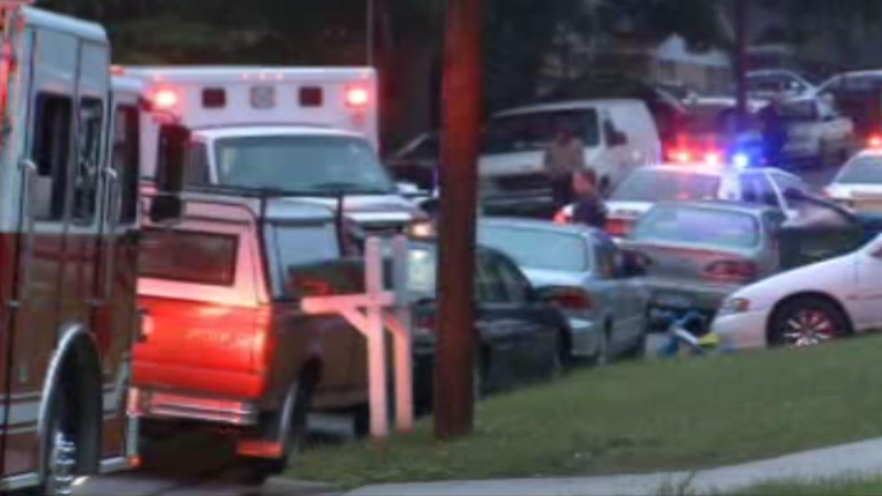 A 4-year-old girl was injured in a hit-and-run accident Saturday night on Barton Street around 8 p.m.