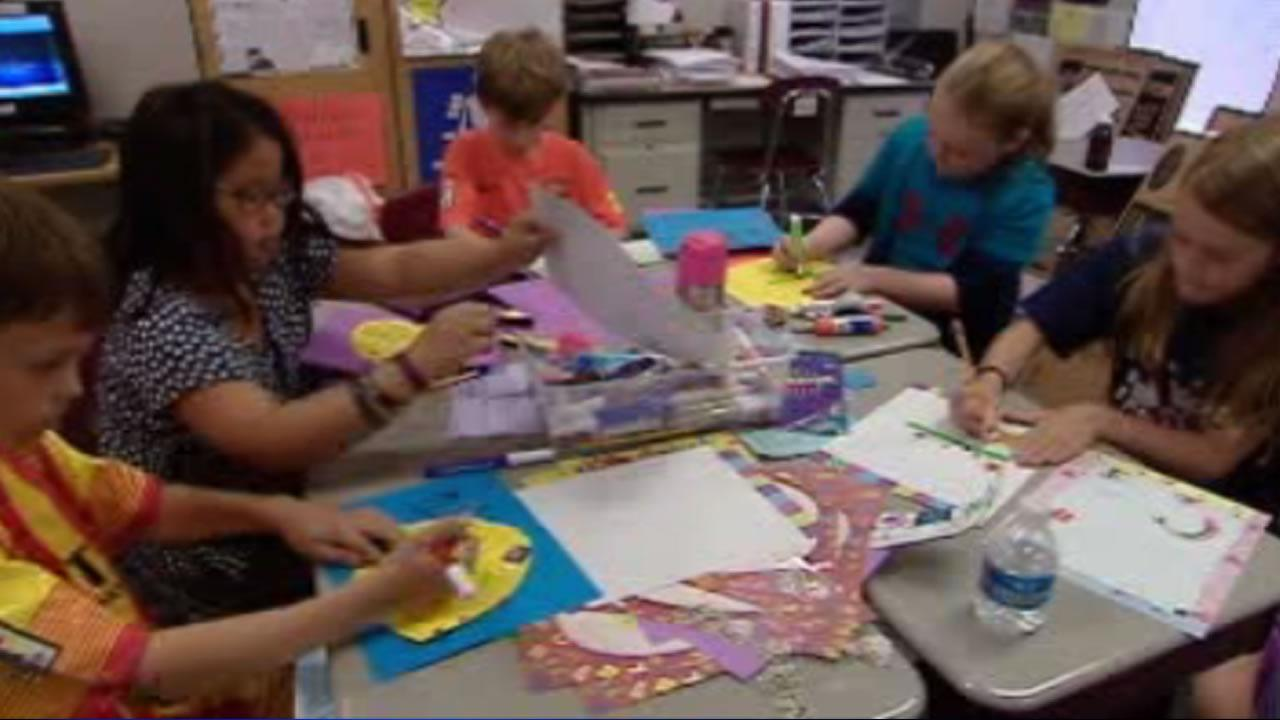 Cary third graders pitch in to help tornado victims
