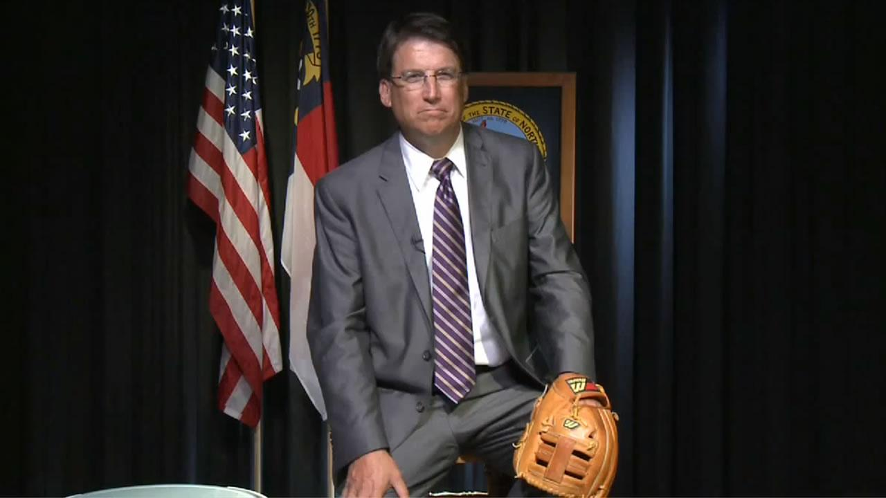 Controversy over Gov. McCrory's game of catch continues