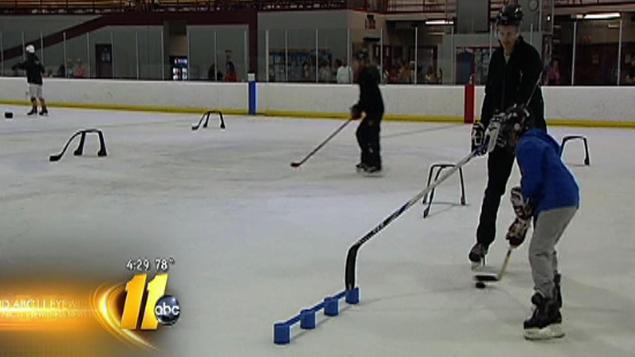 Canes step in to keep Fayetteville ice rink open