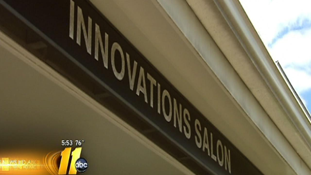 Salon owners locked out of business