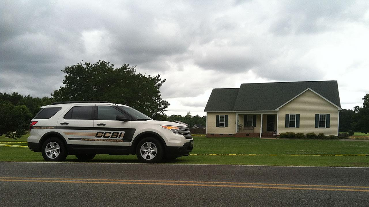 The shooting happened at this home in the 900 block of Moss Road in Zebulon