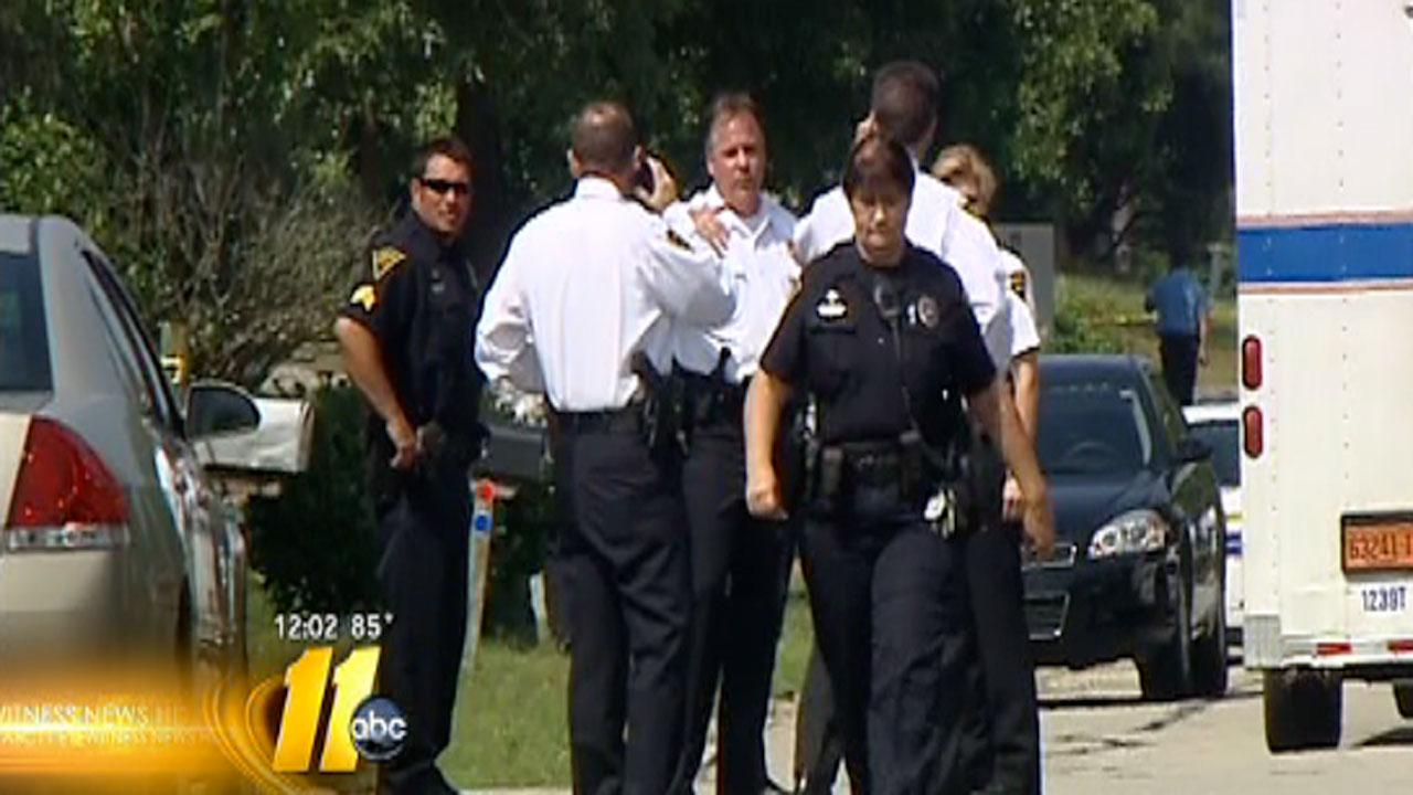 Police say there has been an officer-involved shooting during a death investigation in the 4500 block of Ruby Road.