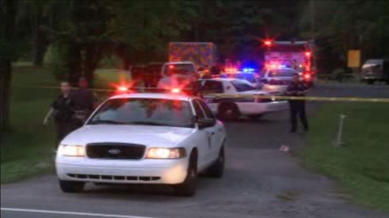 Durham police said a young male victim was shot and killed at Lakeview Park Thursday night