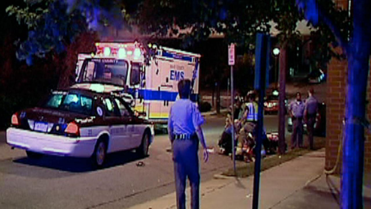 Man hospitalized after being hit by taxi