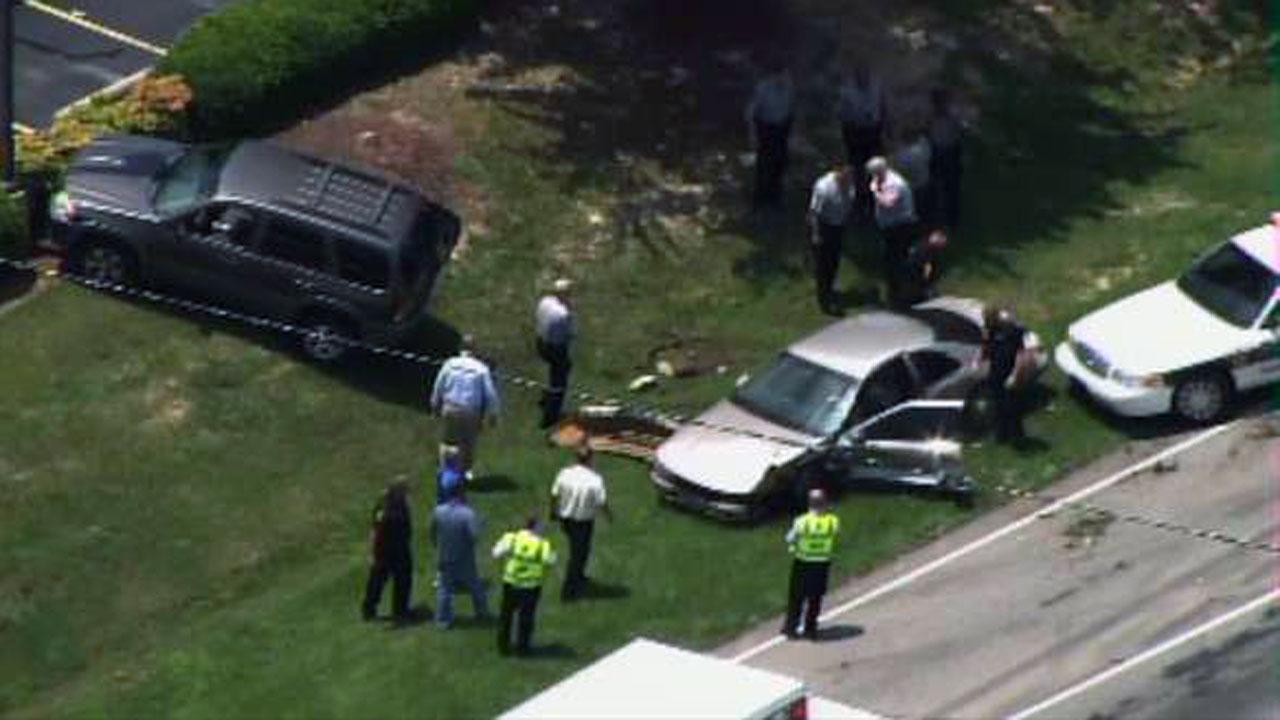 Garner chase leads to crash, injuries