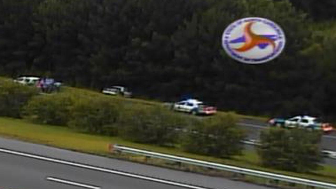 Police cruiser crashes in Raleigh