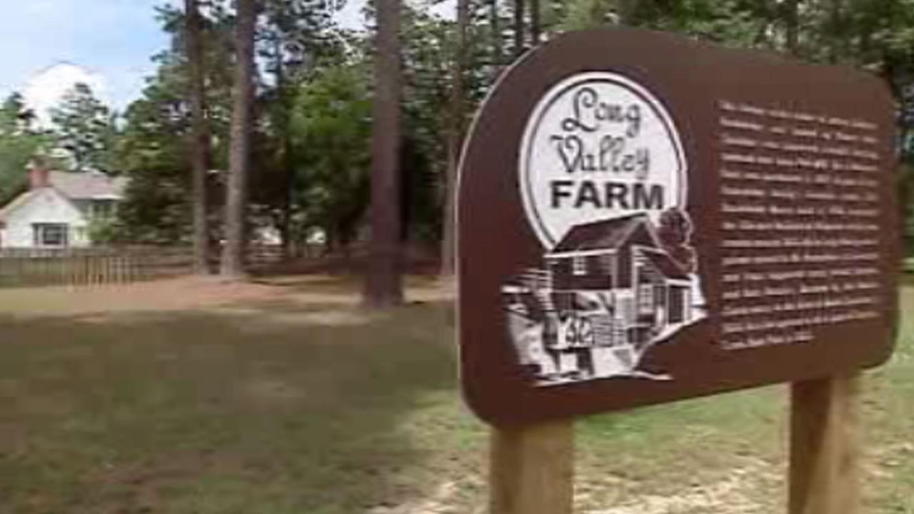 Long Valley Farm was part of the land willed to the nature conservatory by James Stillman Rockefeller