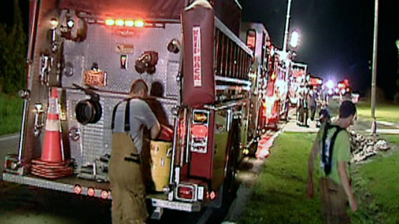 A fire completely destroyed a mobile home in Johnston County early Wednesday morning near the intersection of Highway 210 and Lassiter Road in Four Oaks.