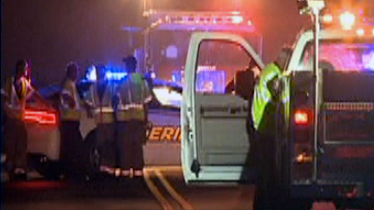 Durham authorities say a woman was killed in an accident on Infinity Road Tuesday night.