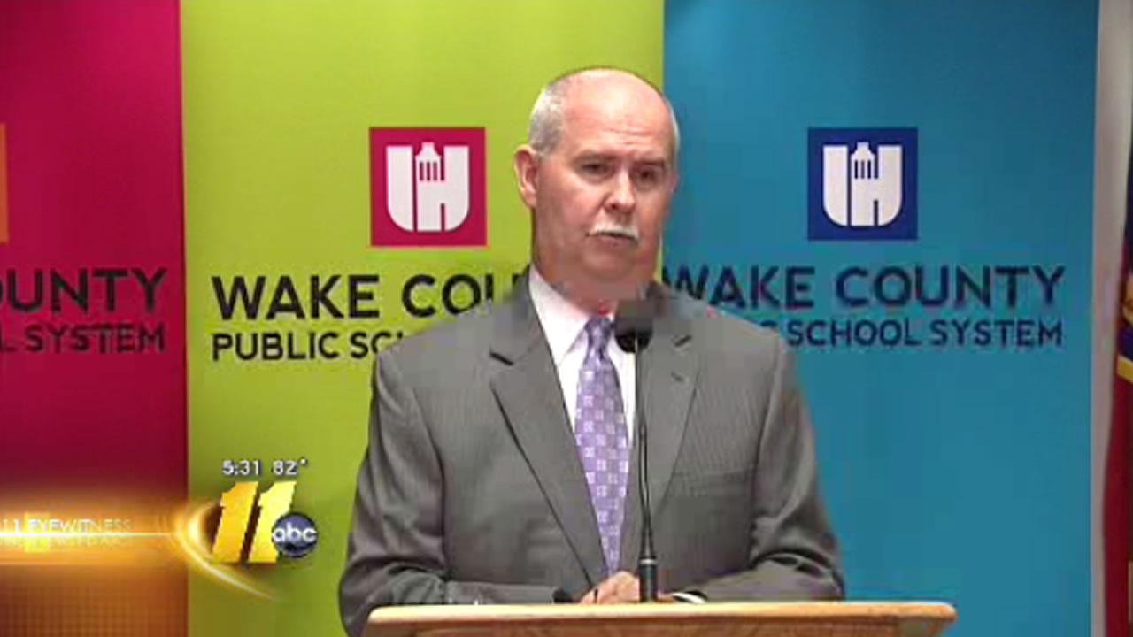 Wake County Schools Superintendent Dr. Jim Merrill