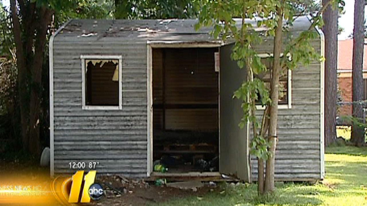 Authorities in Fayetteville are investigating a mans death after his body was found in a burning storage shed Sunday.