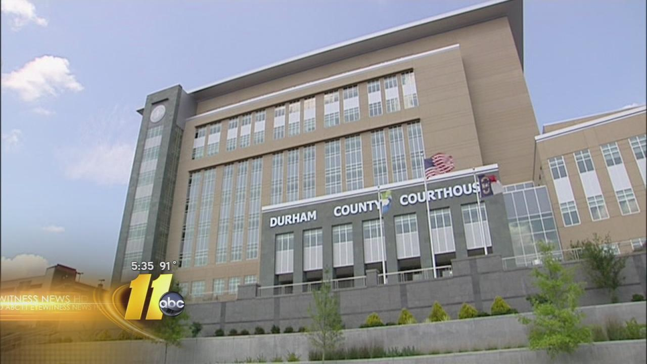 Durham County Courhouse exterior