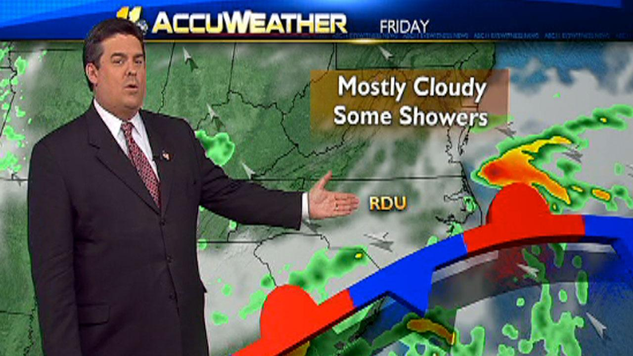 ABC11 First Alert Weather forecast