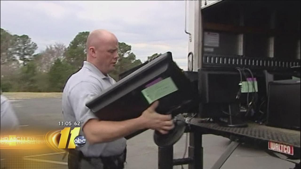 Illegal gambling parlor raid in Cumberland County