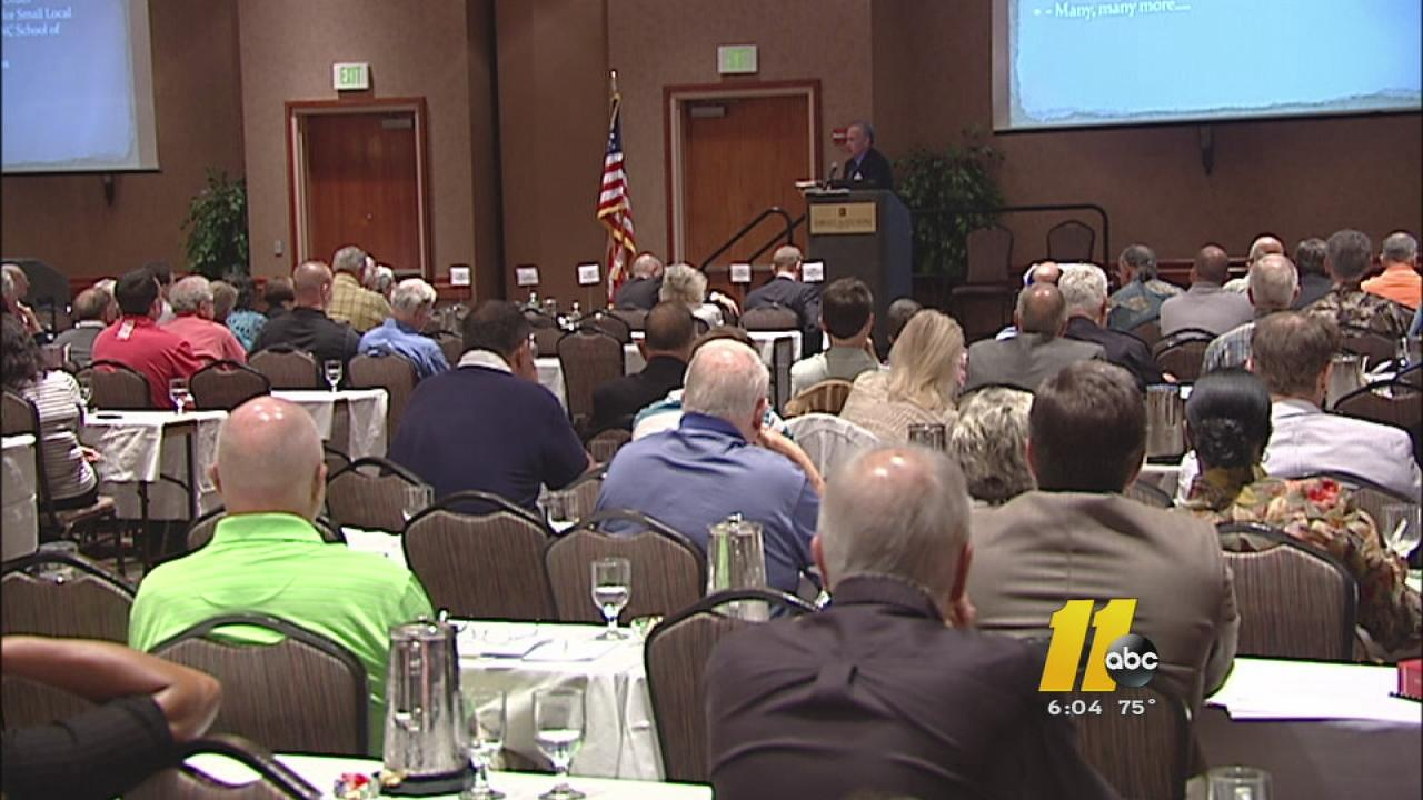 The State Board of Elections meeting in Cary