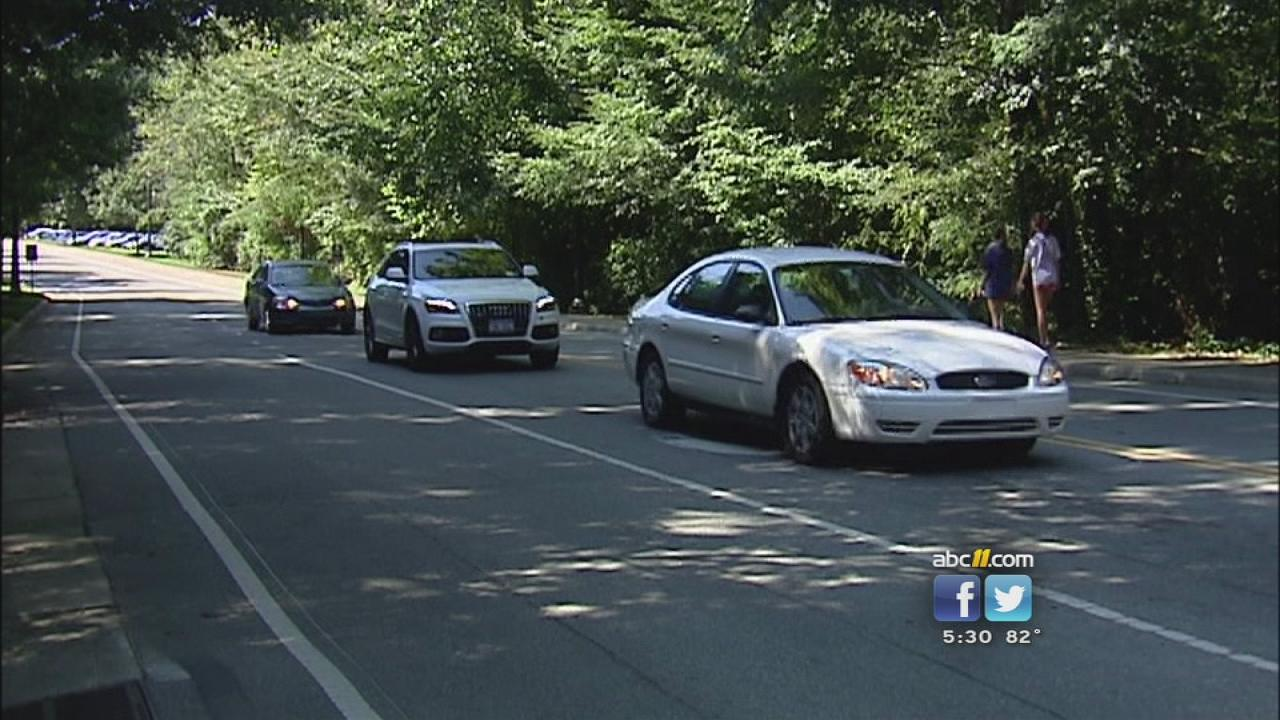 This Duke campus road could be closed to increase safety.