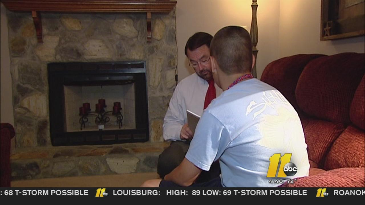A 12 year old home alone found himself face-to-face with a pair of criminals in Cumberland County
