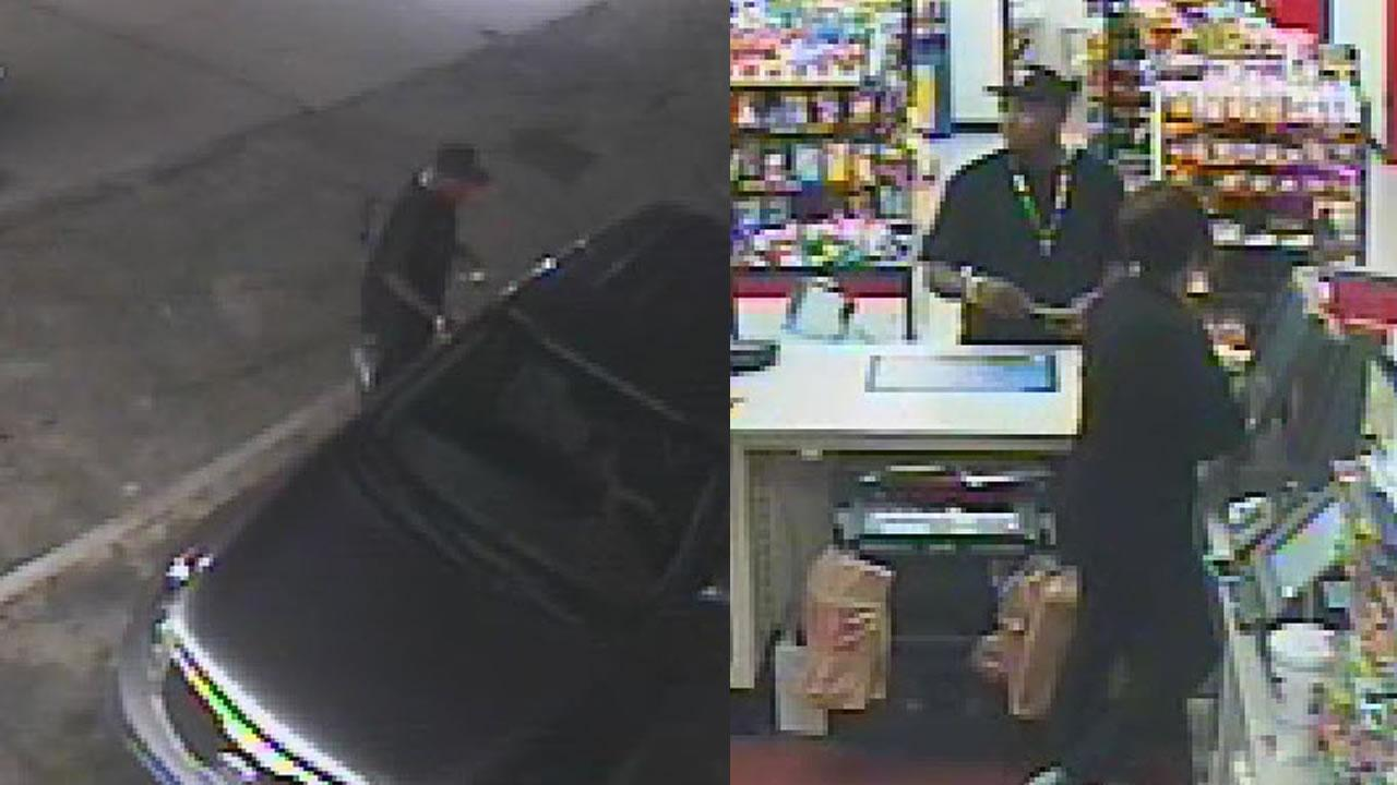 Police said a man was kidnapped and robbed at a gas station and then shot and killed when he tried to run from his kidnappers