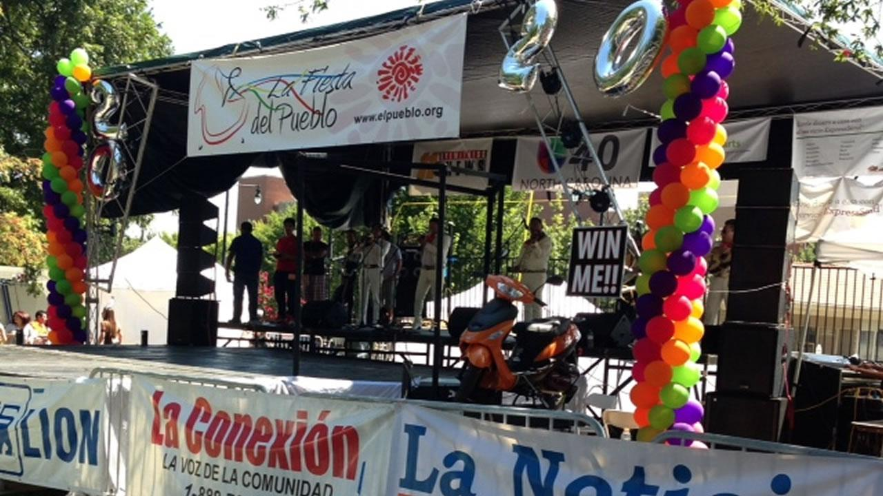 La Fiesta del Pueblo in downtown Raleigh