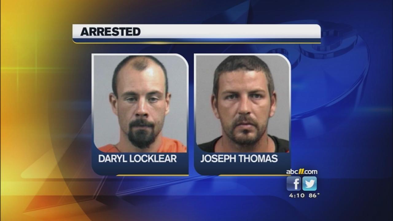 Daryl Lynwood Locklear and Joseph Carl Thomas