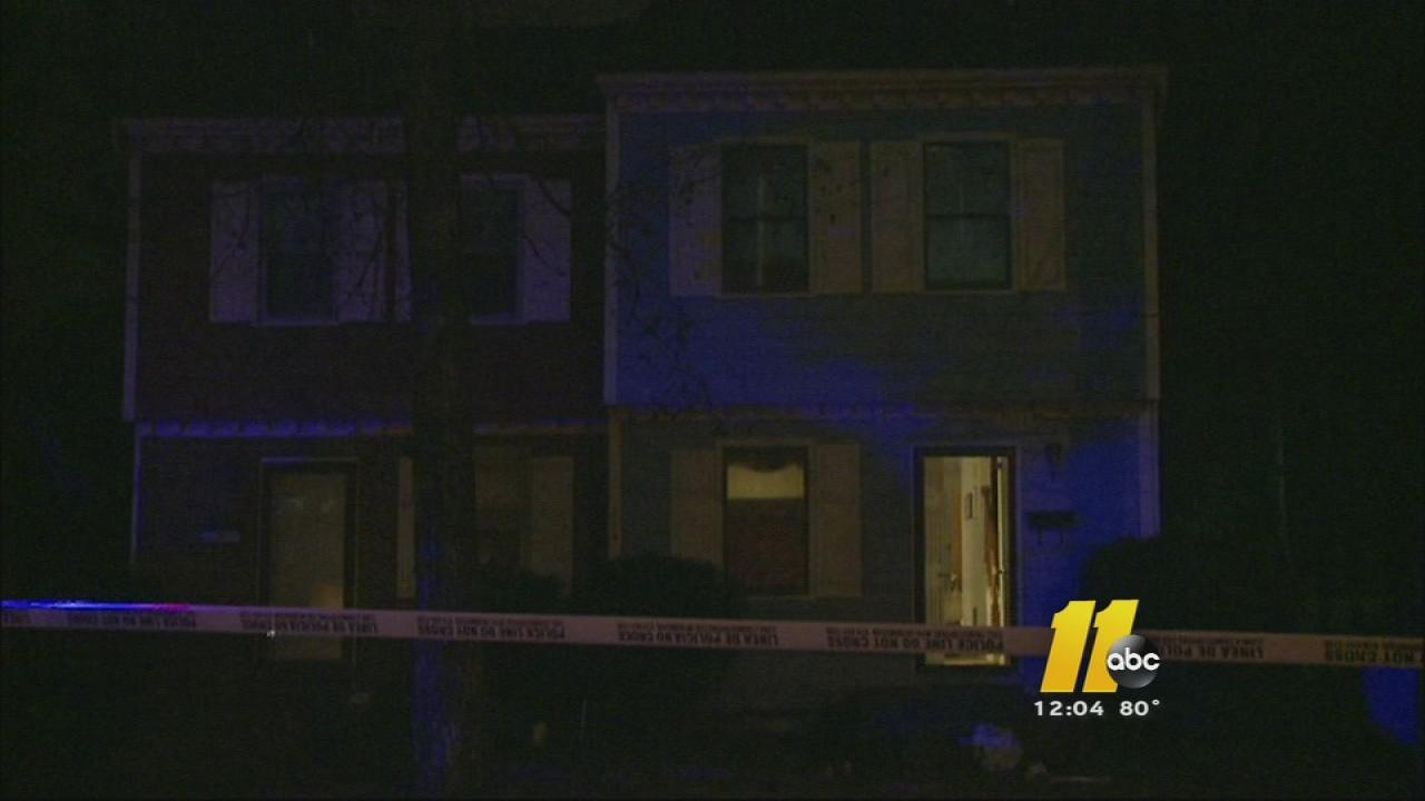 Authorities in Durham are searching for three suspects after a man says they ambushed him in his driveway in the 700 block of Burlington Avenue early Monday morning.