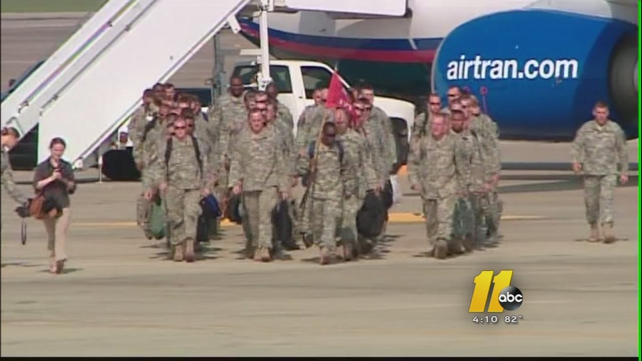 NC National Guard members