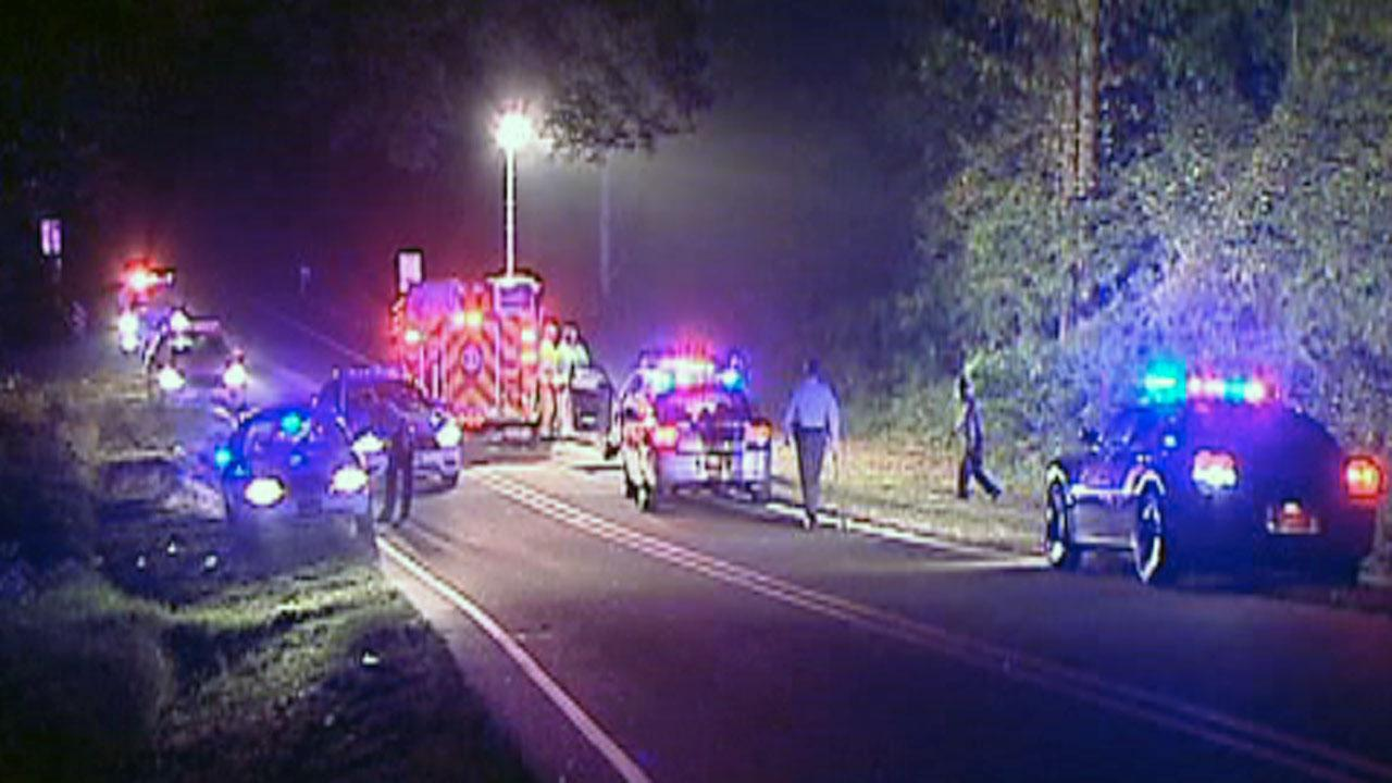 Authorities in Wake County are investigating a motorcycle chase that ended with a crash in Zebulon overnight.
