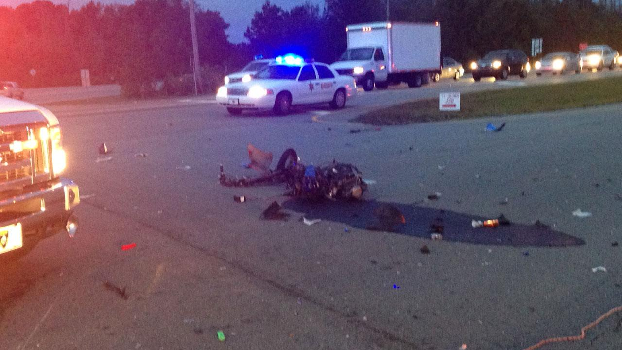 Authorities in Johnston County are investigating a fatal accident involving a moped and a car Wednesday morning.