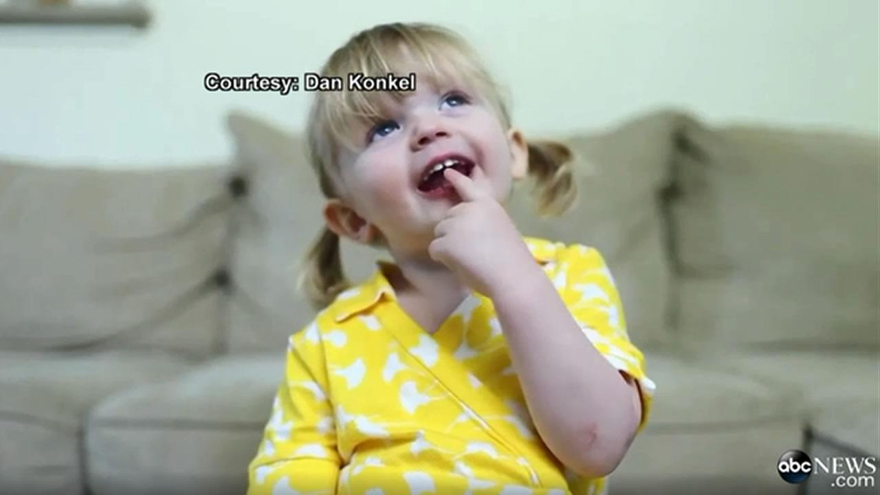 2 year old's birthday message will melt your heart