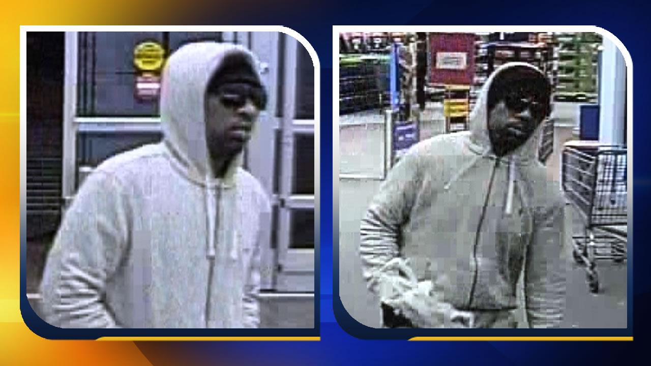 police seek man who robbed wake forest walmart money center