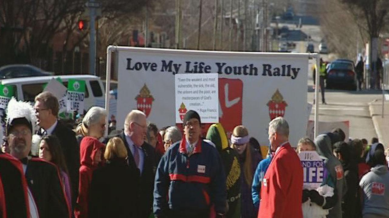 Rally for Life held day after federal judge blocks North Carolina abortion ultrasound law