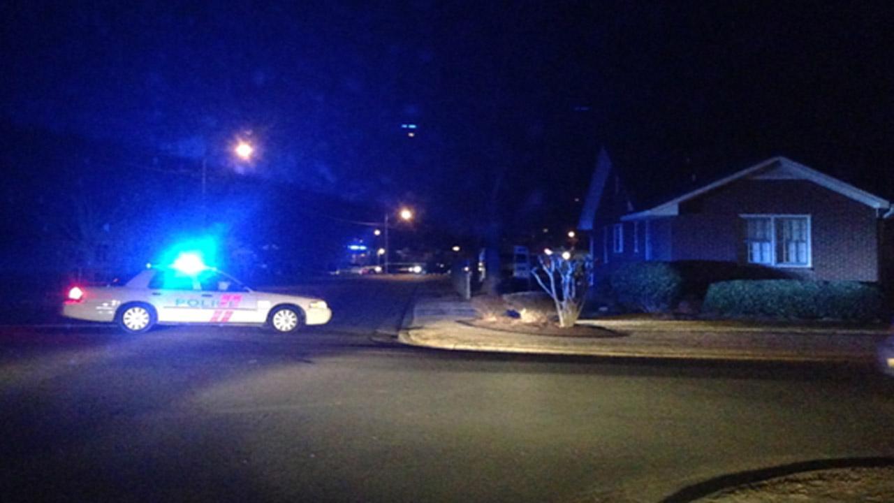 Four shot near Rocky Mount church
