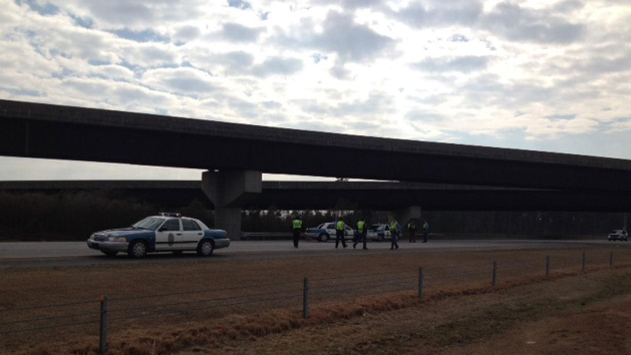 I-540 Eastbound shut down for police investigation in Wake County
