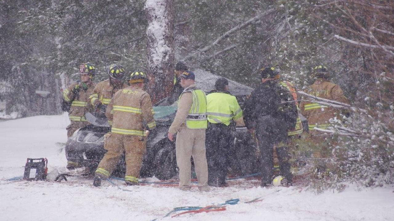 A woman was killed Tuesday afternoon in a crash near Aberdeen.