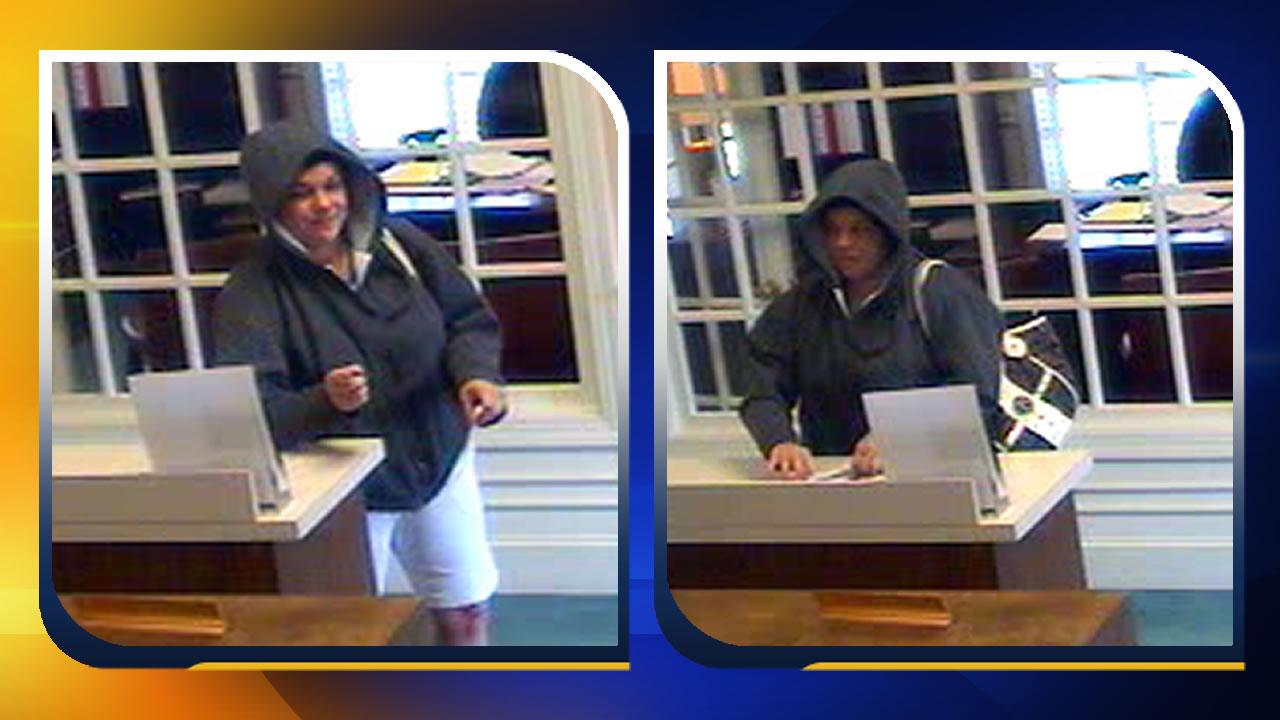Female bank robbery suspect sought in Benson