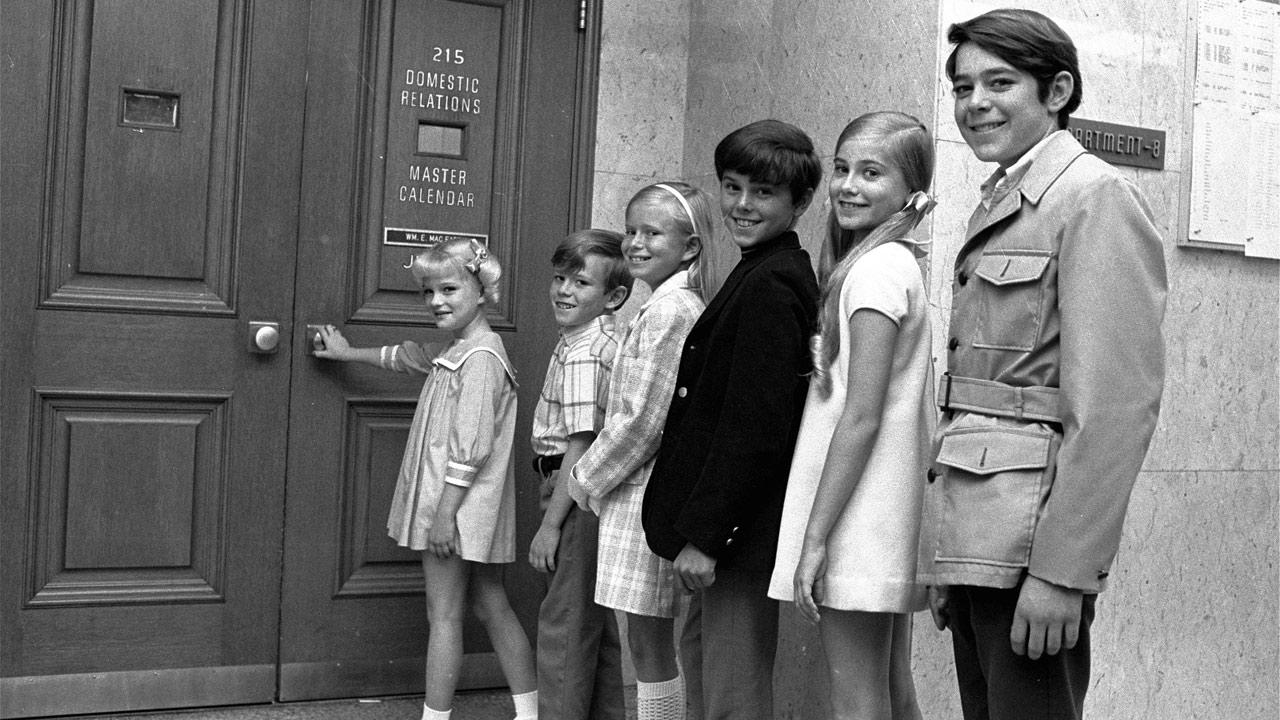 Brady Bunch cast members in 1969