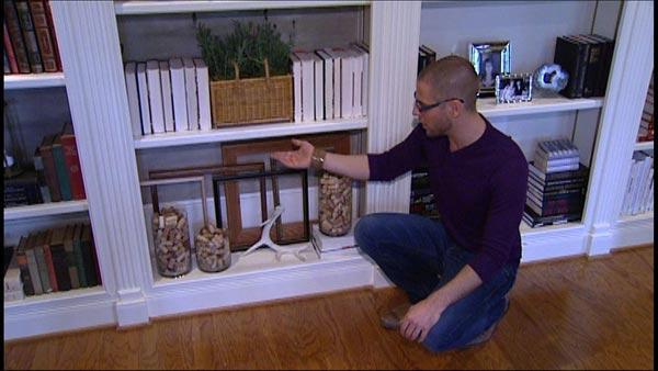 Decorating Book Shelves