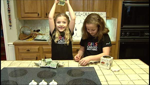 Sisters Sell Homemade Bath Products