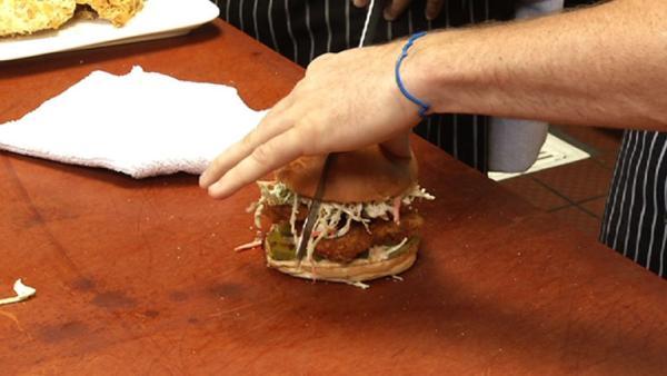 Complete Episode: Cornflake Crusted Fried Chicken Sandwich