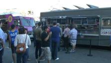 Funfetti Twinkies on Food Truck