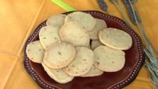 Orange-Olive Oil Shortbread Cookies