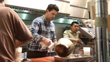 Ryan Competes in Top Chef Cook-off