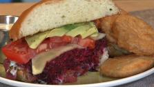 Vegetarian Beet Burger