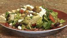 Wallys Greek Salad