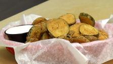Tabasco Fried Pickles