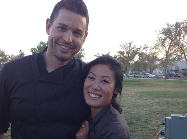 The Chefs -  Ryan and Sophia