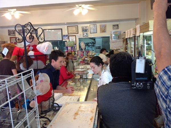 At Dianda's Italian American Pastry, Ryan makes...