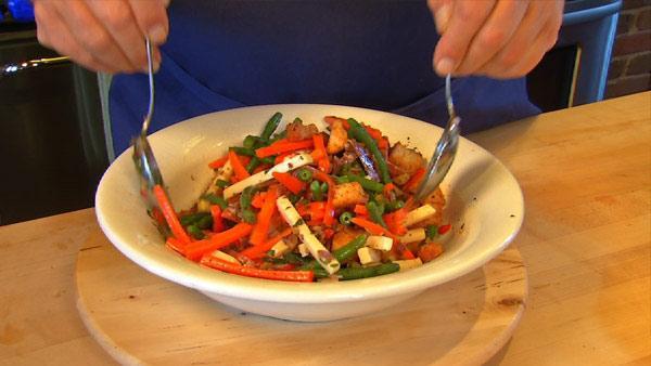 Scrumptious Muffaletta Salad